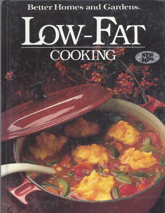 Better Homes and Gardens: Low-Fat Cooking Cook Book (Hardcover)