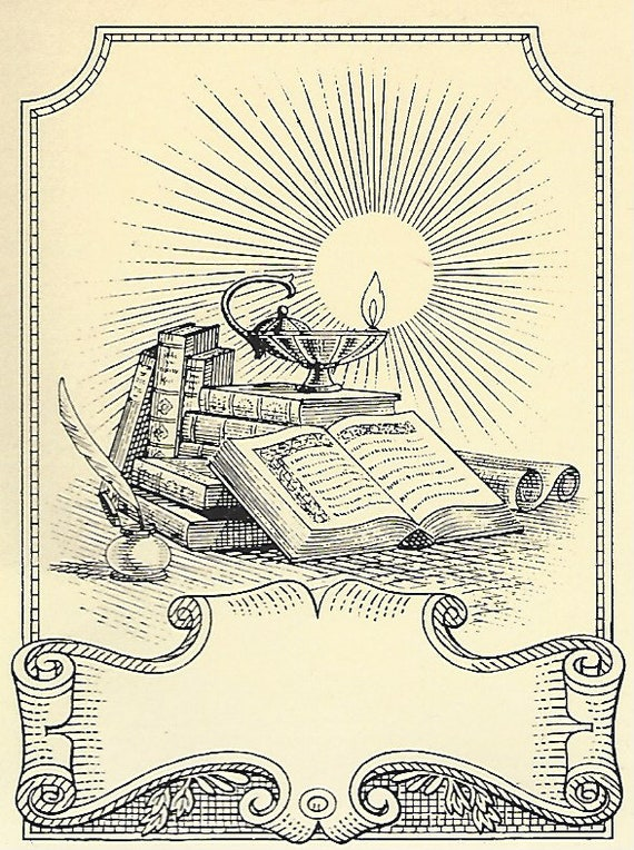 Franklin Library  (Book Plate)