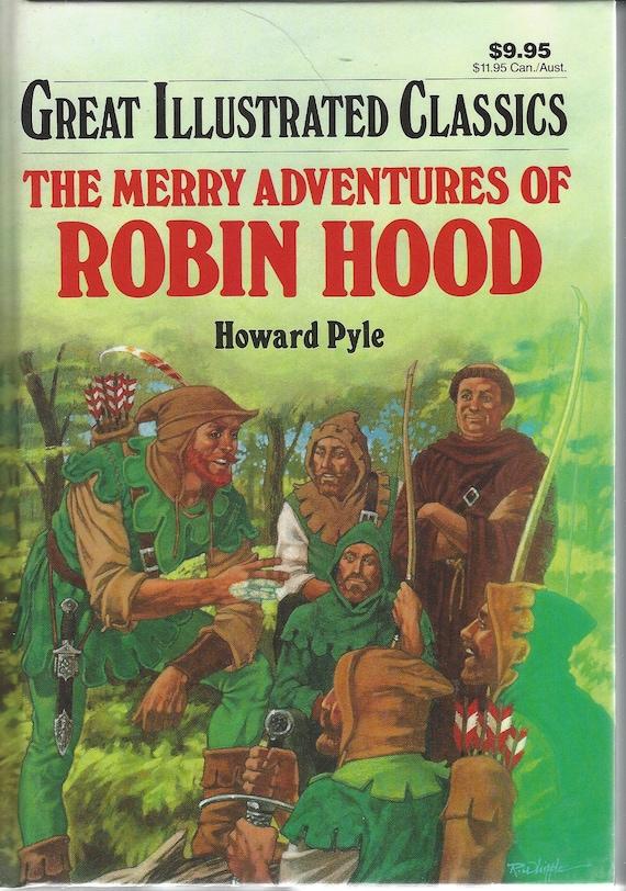 Great Illustrated Classics Robin Hood (Hardcover) 1990