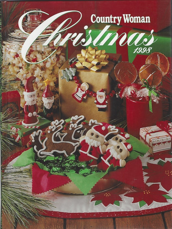 Country Woman Christmas 1998    Hardcover
