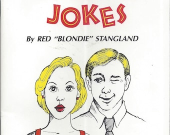 "Official Blonde Jokes by Red ""Blondie"" Styangland (BRAND NEW) (Paperback)"