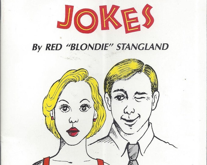 """Official Blonde Jokes by Red """"Blondie"""" Styangland (BRAND NEW) (Paperback)"""