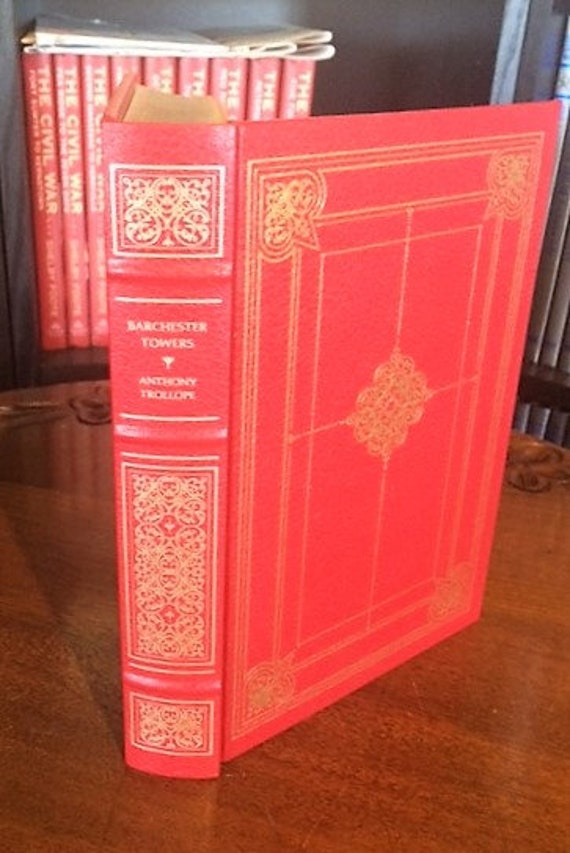 Barchester Towers by  Anthony Trollope Franklin Library (Leatherette)