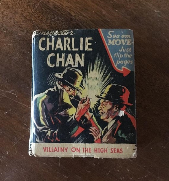 INSPECTOR-CHARLIE CHAN Villainy on the High Seas (1942) Better Little Book (Whitman)