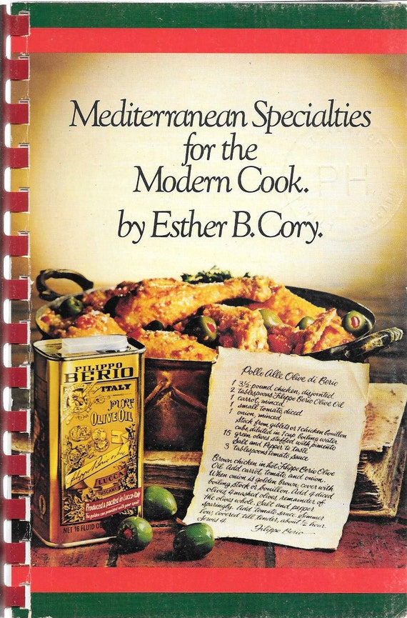 Mediterranean Specialties for the Modern Cook by Esther B. Cory 1983
