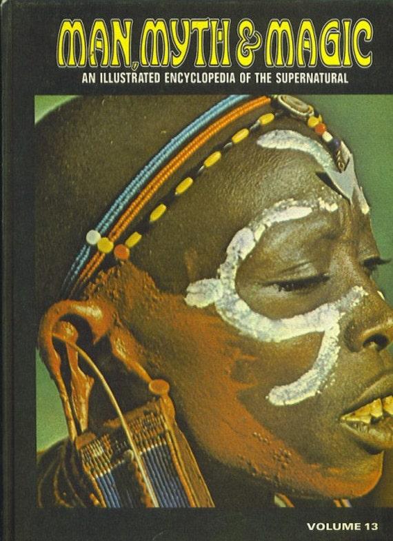 Man, Myth and Magic Volume 13 MAHATMAS TO METEORS by Richard Cavendish 1970