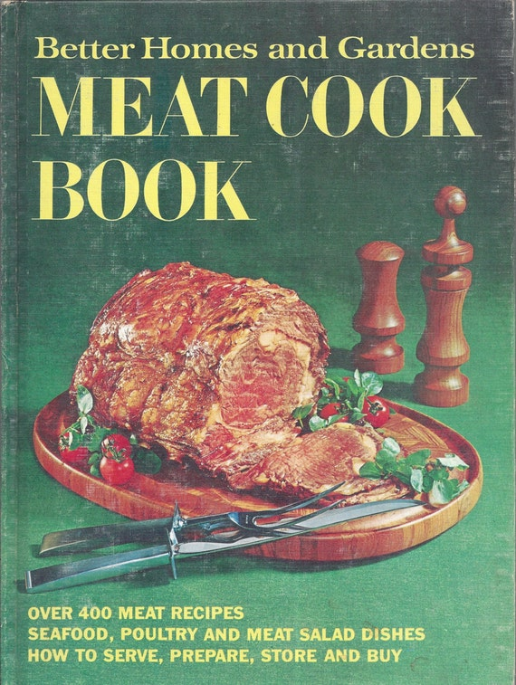 Better Homes and Gardens: Meat Cook Book (Hardcover)