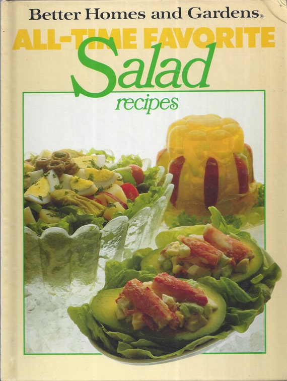 Better Homes and Gardens: All-Time Favorite Salad Recipes Cook Book (Hardcover)