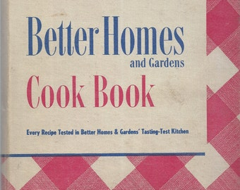 Better Homes and Gardens: COOK BOOK 1947