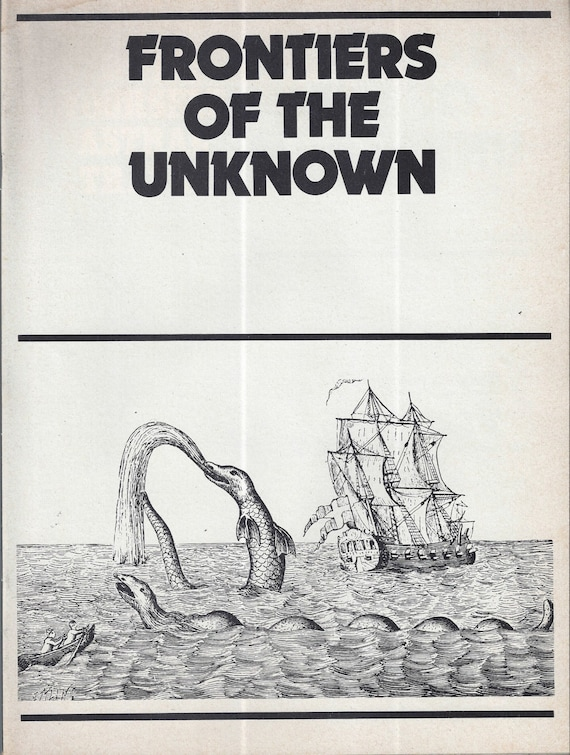 FRONTIERS of the UNKNOWN by Richard Cavendish 1974 (RARE) Magazine