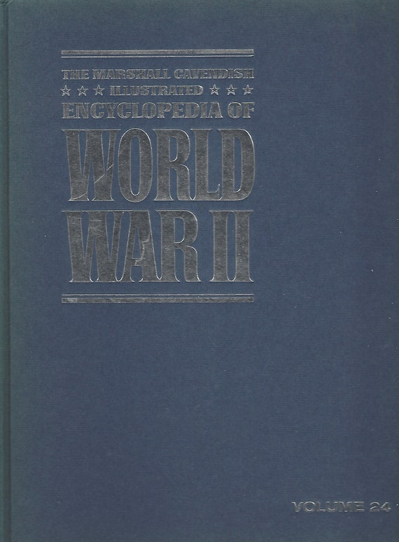 The Marshal Cavendish Illustrated Encyclopedia of World War II (Volume 24) The Fighting Men   (1972)