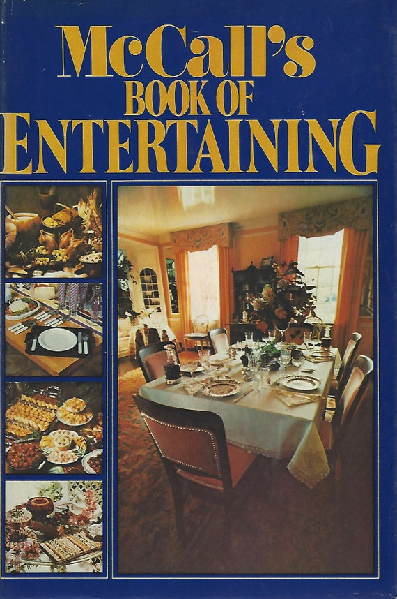 McCall's Book of Entertaining Hardcover (1979)