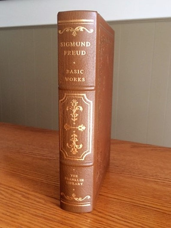 Basic Works by Sigmund Freud Franklin Library (Leather Bound) (NEAR MINT)