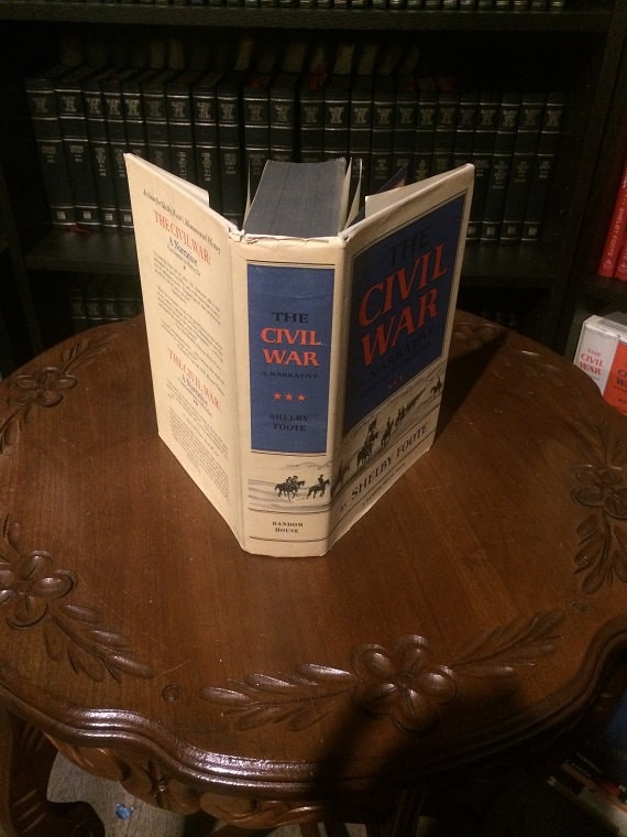 Shelby Foote's The Civil War-A Narrative Red River to Appomatox 1st edition 3rd Printing