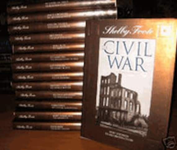 Time-Life: The Civil War-A Narrative by Shelby Foote 14 Volume set