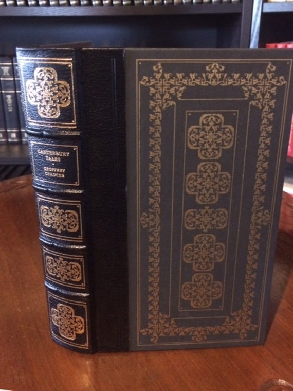 Canterbury Tales by  Geoffrey Chaucer  Leather Bound (NEAR MINT)