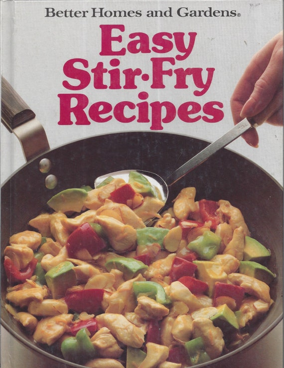Better Homes and Gardens: Easy Stir-Fry Recipes (Hardcover)