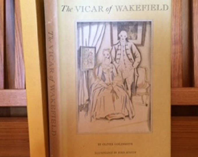 HERITAGE PRESS: Vicar of Wakefield by Oliver Goldsmith 1939