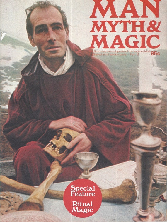Man, Myth and Magic Part 11 Magazine by Richard Cavendish 1970
