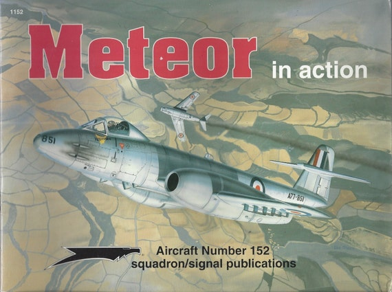 Meteor in Action - Aircraft No. 152 (Paperback)