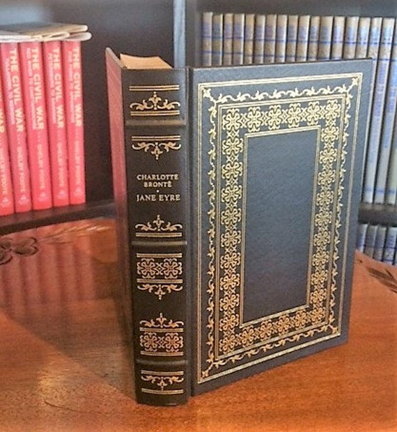 Jane Eyre by Charlotte Bronte Franklin Library (Leatherette)