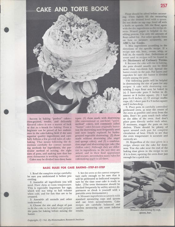Mary Margaret McBride Encyclopedia of Cooking Cook Book Deluxe Edition 1960 (2ND EDITION) (PAGES 357-288)