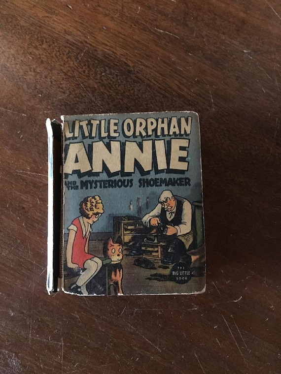 LITTLE ORPHAN ANNIE and the Mysterious Shoemaker (1938) Better Little Book (Whitman)