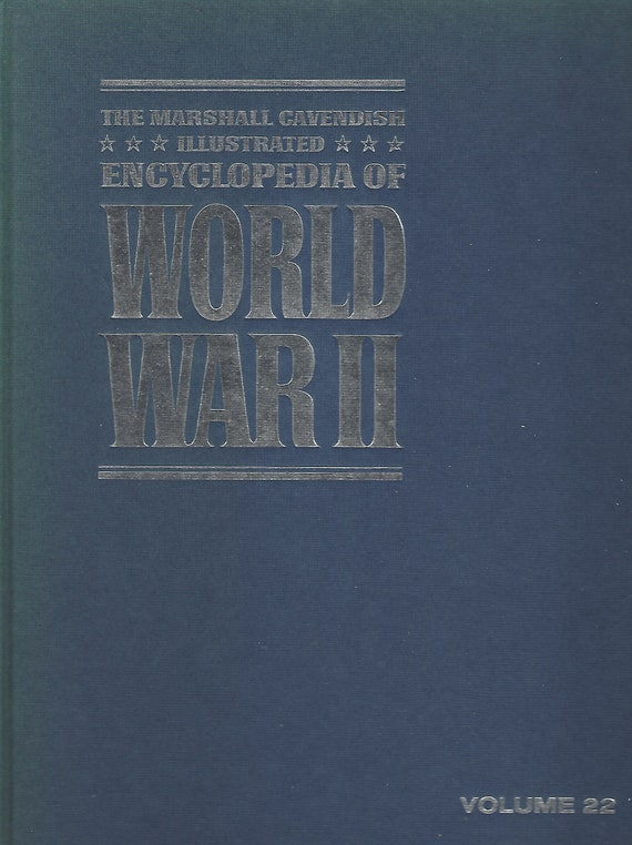 The Marshal Cavendish Illustrated Encyclopedia of World War II  (Volume 22)   Hiroshima/Japan Surrenders   (1972)