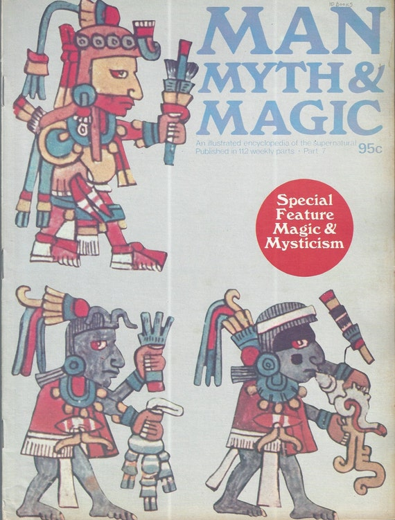 Man, Myth and Magic Part 7 Magazine by Richard Cavendish 1970