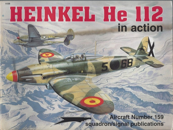 Heinkel He 112 in Action - Aircraft No. 159 (Paperback)