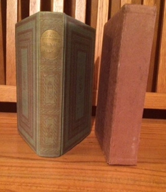 HERITAGE PRESS: Barnaby Rudge by Charles Dickens Hardcover 1941