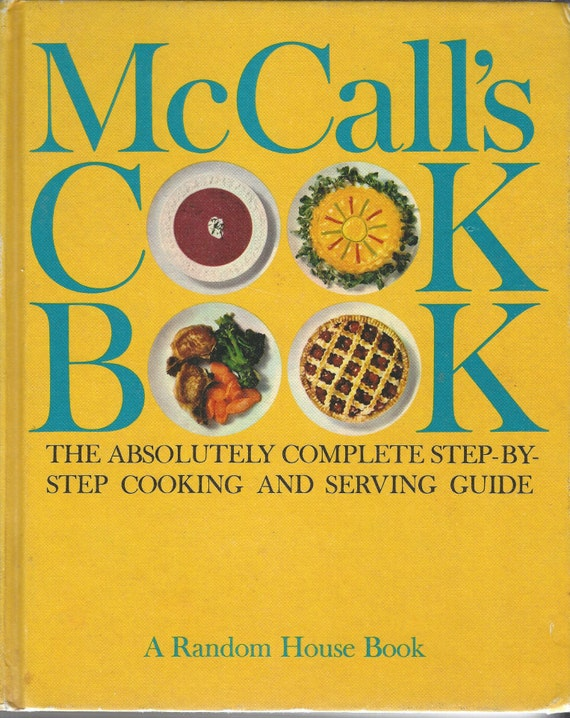 McCall's Cook Book 1963 1st Edition 1st Printing