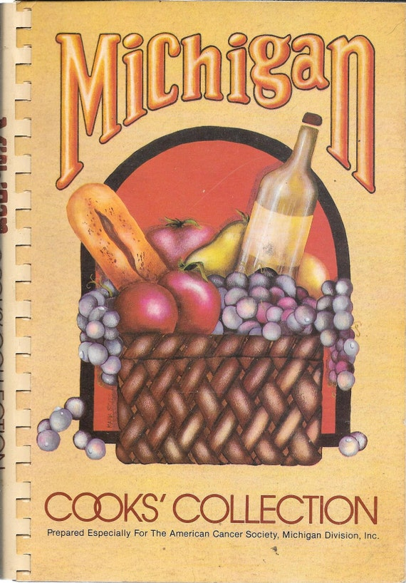 Michigan Cook's Collection by The American Cancer Society 1979