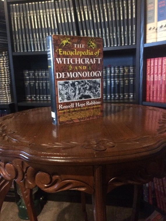 The Encyclopedia of Witchcraft and Demonology 1st Edition-5th Printing