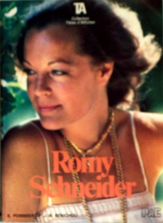 Romy Schneider (French)  by BENICHOU P.J.-B. POMMIER S. (Paperback) 1981