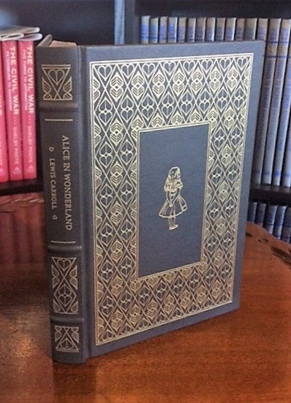 Alice In Wonderland by Lewis Carroll Franklin Library (Leatherette)