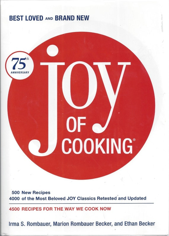 JOY of COOKING by Irma Rombauer & Marion Becker 75th Anniversary (2006)