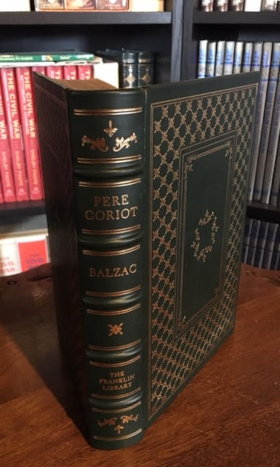 Pere Goriot by Honore de Balzac Franklin Library Leather Bound (NEAR MINT)