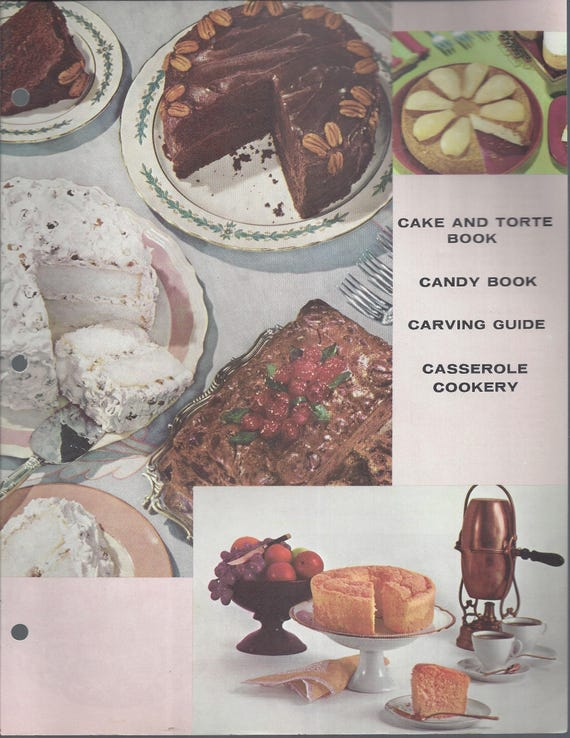 Mary Margaret McBride Encyclopedia of Cooking Cook Book Deluxe Edition 1960 (2ND EDITION) (Cover Page-Cake and Torte Book-Casserole Cookery)