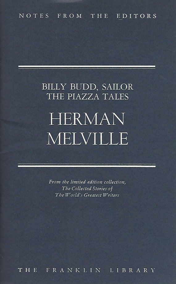 Franklin Library  Notes From the Editors; The Collected Stories of The World's Greatest Writers;  Herman Melville