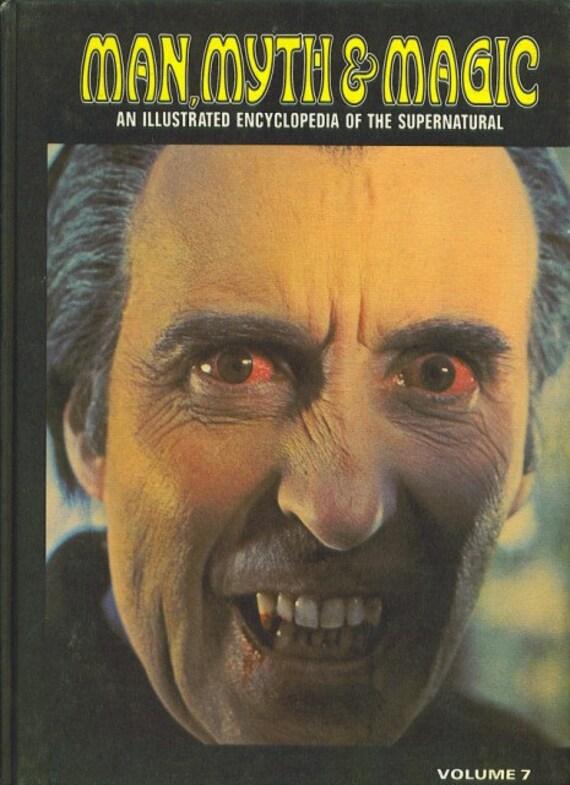 Man, Myth and Magic Volume 7  EVIL to FLOOD by Richard Cavendish 1970
