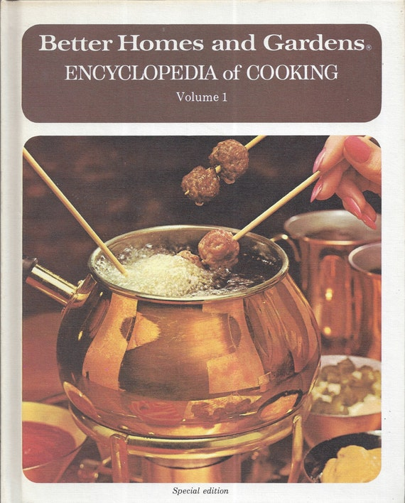 Better Homes and Gardens: Encyclopedia of Cooking Volume 1 Cook Book (Hardcover)