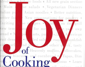 JOY OF COOKING by Irma S. Rombauer, Marion Rombauer Becker Hardcover 1997