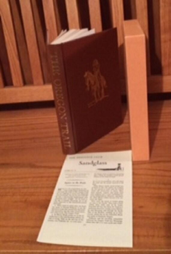 HERITAGE PRESS: The Oregon Trail by Francis Parkman 1971