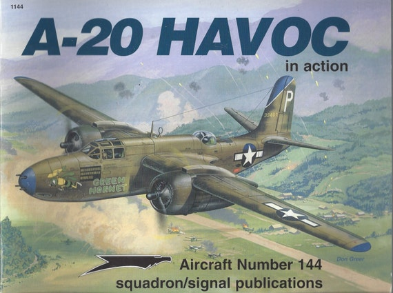 A-20 Havoc in action - Aircraft No. 144 (Paperback)