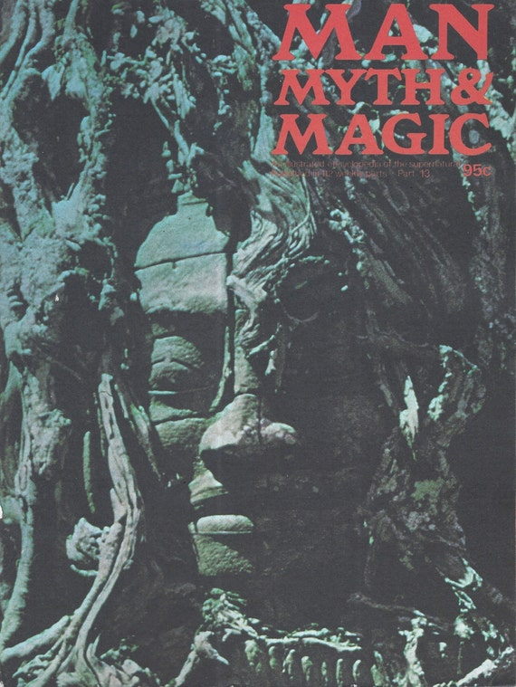Man, Myth and Magic Part 13 Magazine by Richard Cavendish 1970