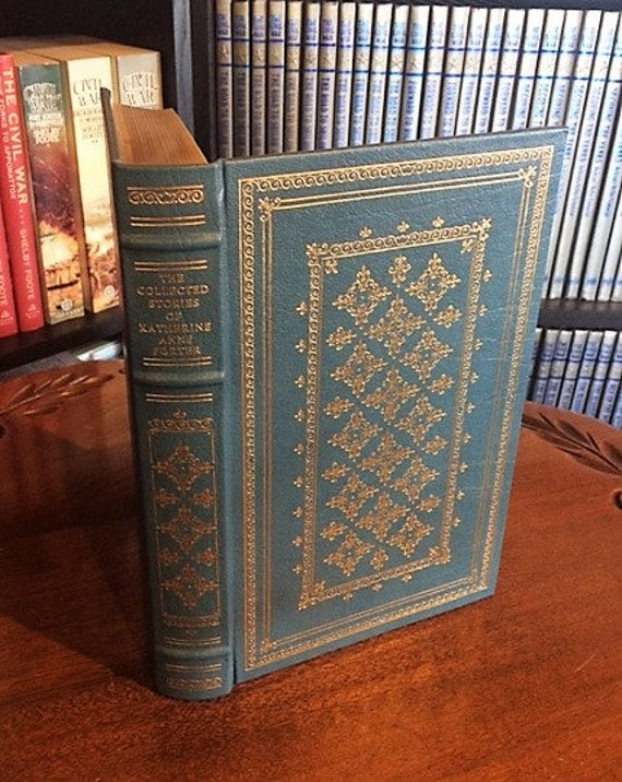 The Collected Stories Katherine Anne Porter Franklin Library-Pulitzer Prize Leather Bound (NEAR MINT)