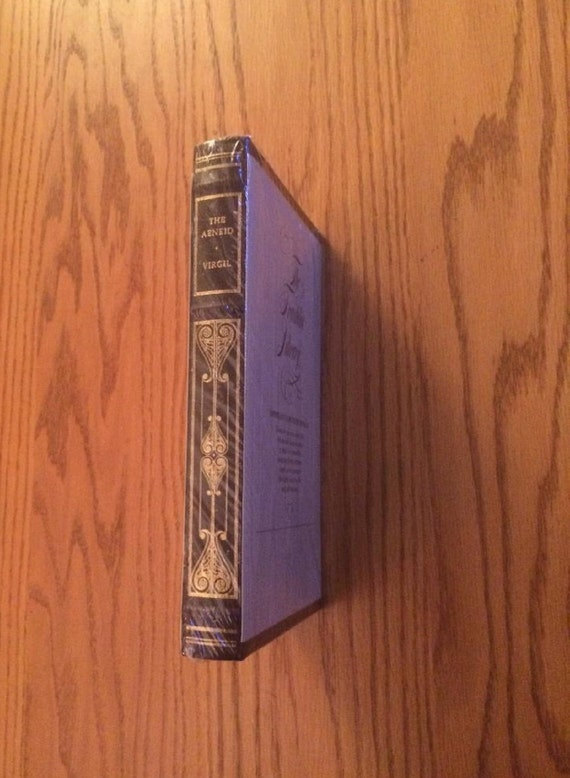 The Aeneid by Virgil   Leather Bound (SEALED MINT)