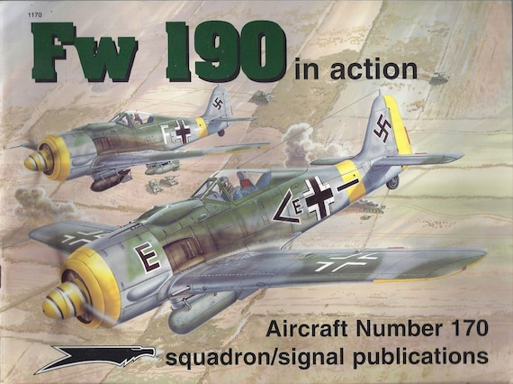 Focke Wulf Fw 190 in Action - Aircraft No. 170 (Paperback)