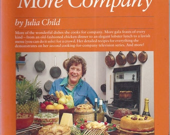 Julia Child & More Company by Julia Child, E. S. Yntema (SC)